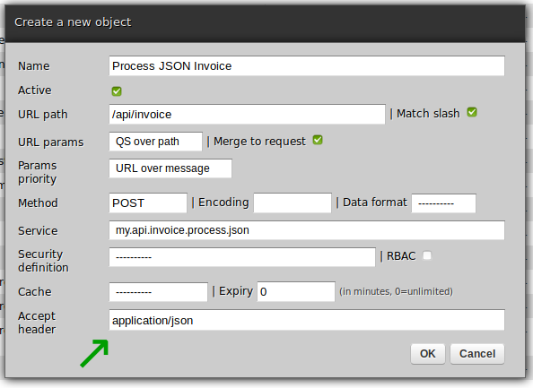 Process JSON invoice