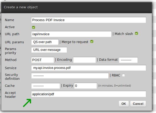 Process PDF invoice