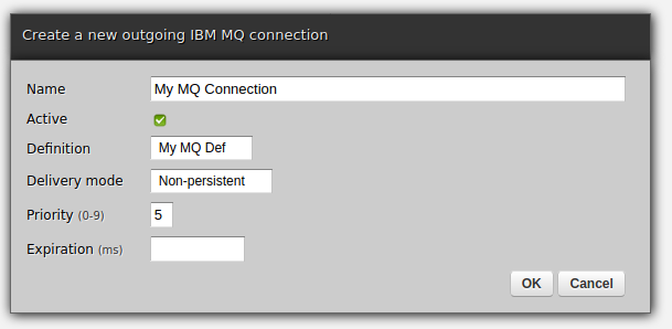 Zato web-admin outgoing connection creation form
