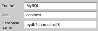 Zato Dashboard Setting MySQL encoding