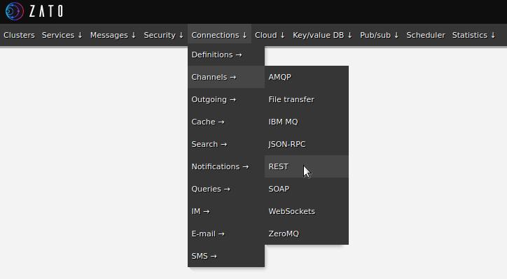 Web-admin menu - Dropbox