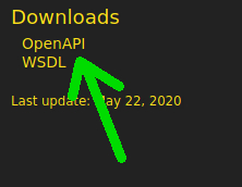 OpenAPI download