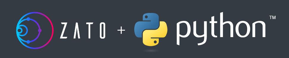 Zato and Python logo